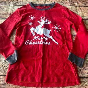 Babyroom Girls Pajama Top Christmas 9 Yr